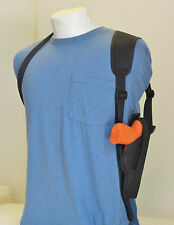 Gun Shoulder Holster for COLT 45 with Underbarrel Laser  VERTICAL CARRY