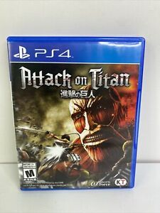 Attack on Titan 1 (Sony PlayStation 4, 2016) Complete Rare Used Tested PS4 Game