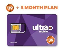 Ultra Mobile $39 Plan for 3 Months