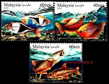MALAYSIA 2018 TROPICAL ORNAMENTAL FISH MNH STAMP SET NATURE FAUNA FISH