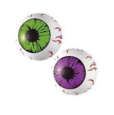 25cm Hinchable orificios Fiesta Halloween Decoración Globo Ocular