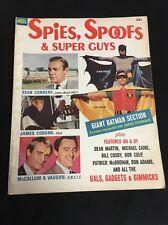 Vtg 1ST ISSUE SPIES SPOOFS SUPER GUYS Magazine 1966 Old Batman James Bond UNCLE