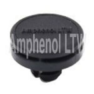 Amphenol BREATHABLE VENTS w/Nut M12x16mm 5Pcs Flat Surface, Waterproof, Black