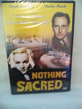 Nothing Sacred DVD  New Factory Sealed Carole Lombard Region Free
