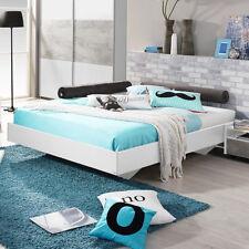 Bett Milo Futonbett Bettgestell Liege für Jugendzimmer in weiß 120x200