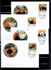 Tonga 2012 - FDC - Dieren/Animals (PANDA's ) - World of Wildlife - WWF/WNF