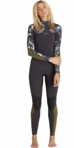 NWT 260$ Billabong SURF CAPSULE SALTY DAYZ 5/4 CHEST ZIP WETSUIT *12