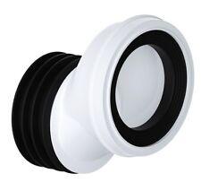 "Viva WC Toilet 20mm Offset Pan Connector Soil 4"" 100mm PP0003"