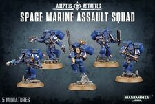 Space Marine Assault Squad Adeptus Astartes Marines Warhammer 40k NEW