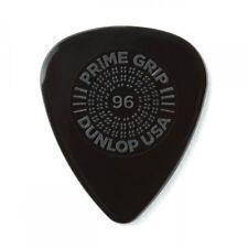 Jim Dunlop Prime Grip Delrin 500 Plectrum Players Pack Black - 12 Pack - .96
