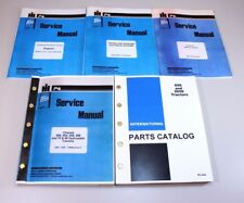 INTERNATIONAL IH 656 DIESEL TRACTOR  ENGINE SERVICE REPAIR MANUAL PARTS CATALOG