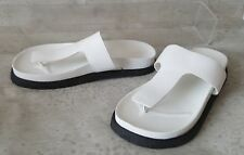 ALEXANDER WANG Agnes Sandals white leather 36 us 6 Brand New