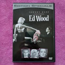 dvd film Ed Wood avec Johnny Depp