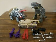 Transformers G1 GRIMLOCK, SLAG,and BLITZWING Lot