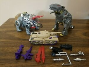 Transformers G1 GRIMLOCK, SLAG,and BLITZWING Lot