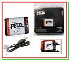 petzl core batteria pila ricaricabile per lampada frontale hybrid usb E99ACA