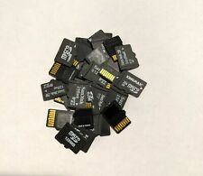 Lot of 10 Mixed Brand > 1GB Micro SD Cards 32mb 64mb 128mb 256mb 512mb