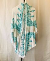 Boho Chic Women's Kimono Wrap Duster with Beautiful Mandala Pattern