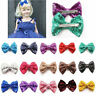Cute Bow Clip Sequin Hairpin Kids Shiny Bowknot Glitter Hair Girls Baby