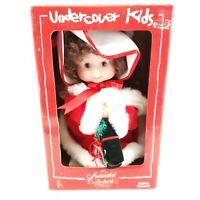 Santa's Best Undercover Kids Animated Christmas Girl Doll Emily