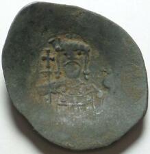"1118-1143 AD BYZANTINE EMPIRE Cup-Shaped ""ASPRON TRACHY"" of JOHN II COMNENUS (?)"
