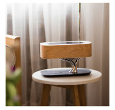 HOT GIFT! Tree of Light Smart Bedside Desk Lamp Bluetooth Audio Wireless Charger
