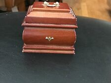 """American Girl 18"""" Doll Felicity Retired Tea Lesson Wooden Caddy ONLY"""