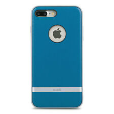 "Moshi Napa Vegan Leather Hardshell Case for iPhone 8 Plus/7 Plus 5.5"" Blue"