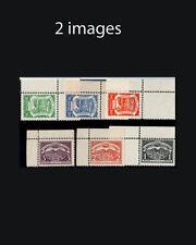 Vintage: Colombia 1921 Og Nh Scott 25-34 $ 395 Est Nh Lot #Col1921Ad3