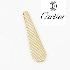 Yellow Gold Tie Clip Nyjewel Cartier 14k Solid