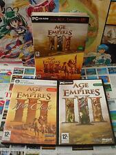 PC CD-Rom:Pack Age of Empires III + The WarChiefs [TOP STRATEGIE] COMPLET - Fr