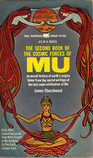 James Churchward THE SECOND BOOK OF THE COSMIC FORCES OF MU pb 1968 Vintage-Good