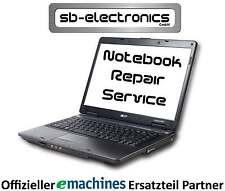 "Original eMachines Display 15,6"" E732G Serie glossy mit Einbau / Reparatur"