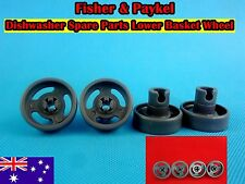 Fisher & Paykel Dishwasher Parts Lower Basket Wheel Grey 4pcs/set  New (D24)