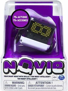 NOVIE Interactive Smart Robot - Over 75 Actions and Learns 12 Tricks (Purple)