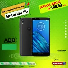 MOTOROLA E6 - 16GB - Black,Unlocked, wholesales, brand new! ***READ***