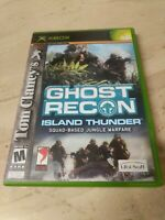 Tom Clancy's Ghost Recon: Island Thunder (Microsoft Xbox, 2003)