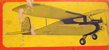 """deBolt Live Wire KITTEN PLAN & RC UPDATE ARTICLE to 34"""" Electric Model Airplane"""
