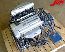 JDM TOYOTA COROLLA SILVER TOP 20 VALVE 4AGE ENGINE 5SPD M/T ECU 4A-GE **VIDEO**