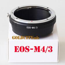 Canon EOS EF Lens to Micro 4/3 M4/3 Adapter EP1 EP2 G1 GH1 GF1 E-P1L EOS-M4/3