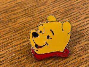 UK DISNEY STORE POOH HEAD PIN FROM POOH AND FRIENDS LANYARD 4 PIN SET HTF
