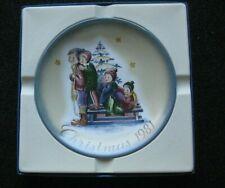 New Listing1981 Christmas Plate - Berta Hummel Art - Schmid - A Time to Remember