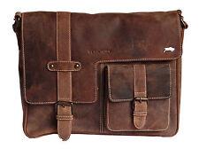 Aktenkoffer & -taschen aus Leder mit Schulterriemen