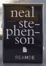 """Reamde Book Cover - 2"""" X 3"""" Fridge / Locker Magnet. Neal Stephenson"""