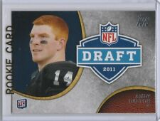 ANDY DALTON Topps 2011 NFL DRAFT ROOKIE CARD Cincinnati Bengals Footbal TCU RC