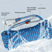 30M 10mm 1200KG Emergency Rappelling Rock Outdoor Climbing Rope Escape