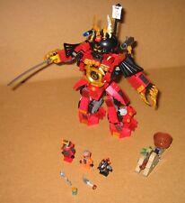 9448 LEGO Ninjago Samurai Mech 100% Complete NO Instructions EX COND 2012