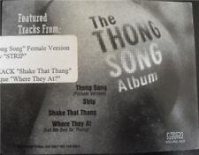 "Various – The Thong Song Album - Format: Vinyl, 12"", Promo"