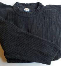 Tommy Bahama 100% Cotton Crewneck Velour Sweater Black 2XL