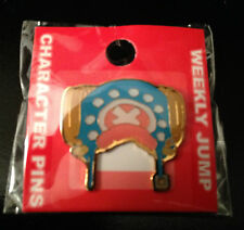 One Piece Anime Chopper Hat Character Pin Pinback Enamel Metal Weekly Jump